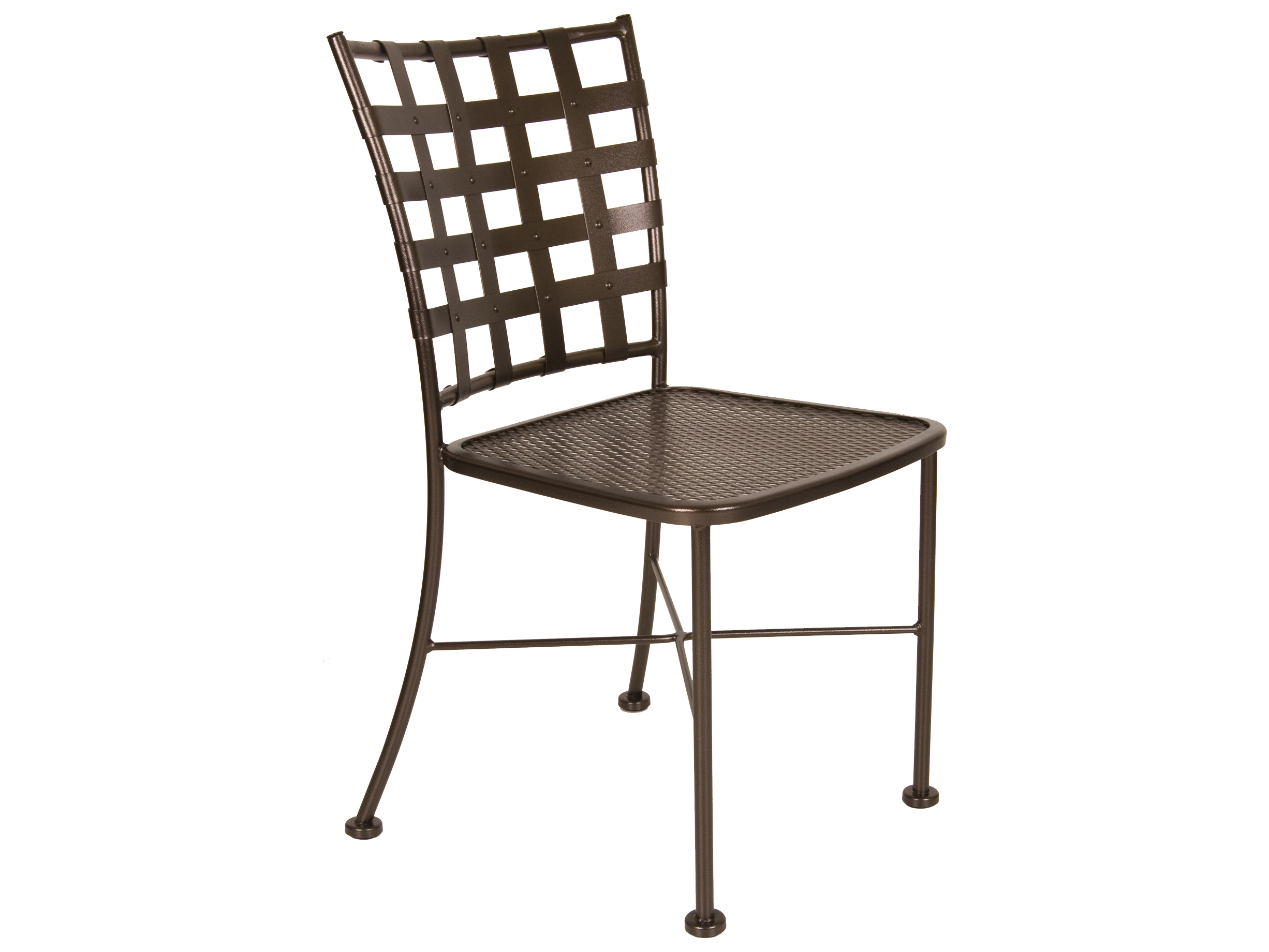 wrought iron dining chairs folding lounge beach chair ow lee casa 707 s