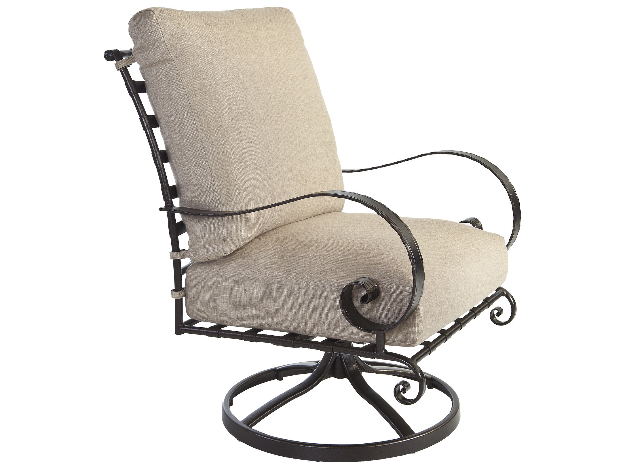 wrought iron rocking chair design inspiration ow lee quick ship classico swivel rocker