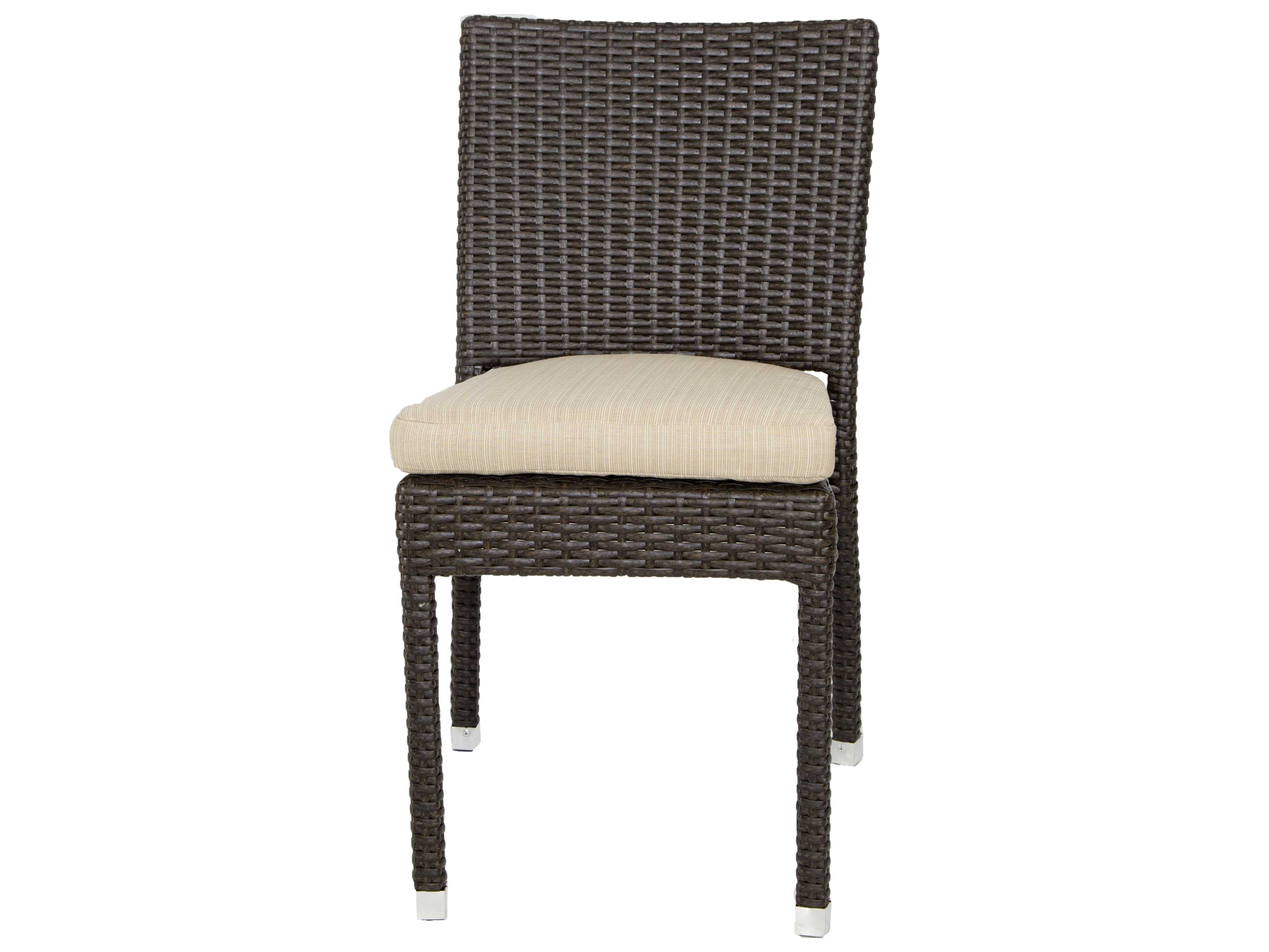 Wicker Side Chair Patio Heaven Zuma Wicker Side Chair Ph Zsc