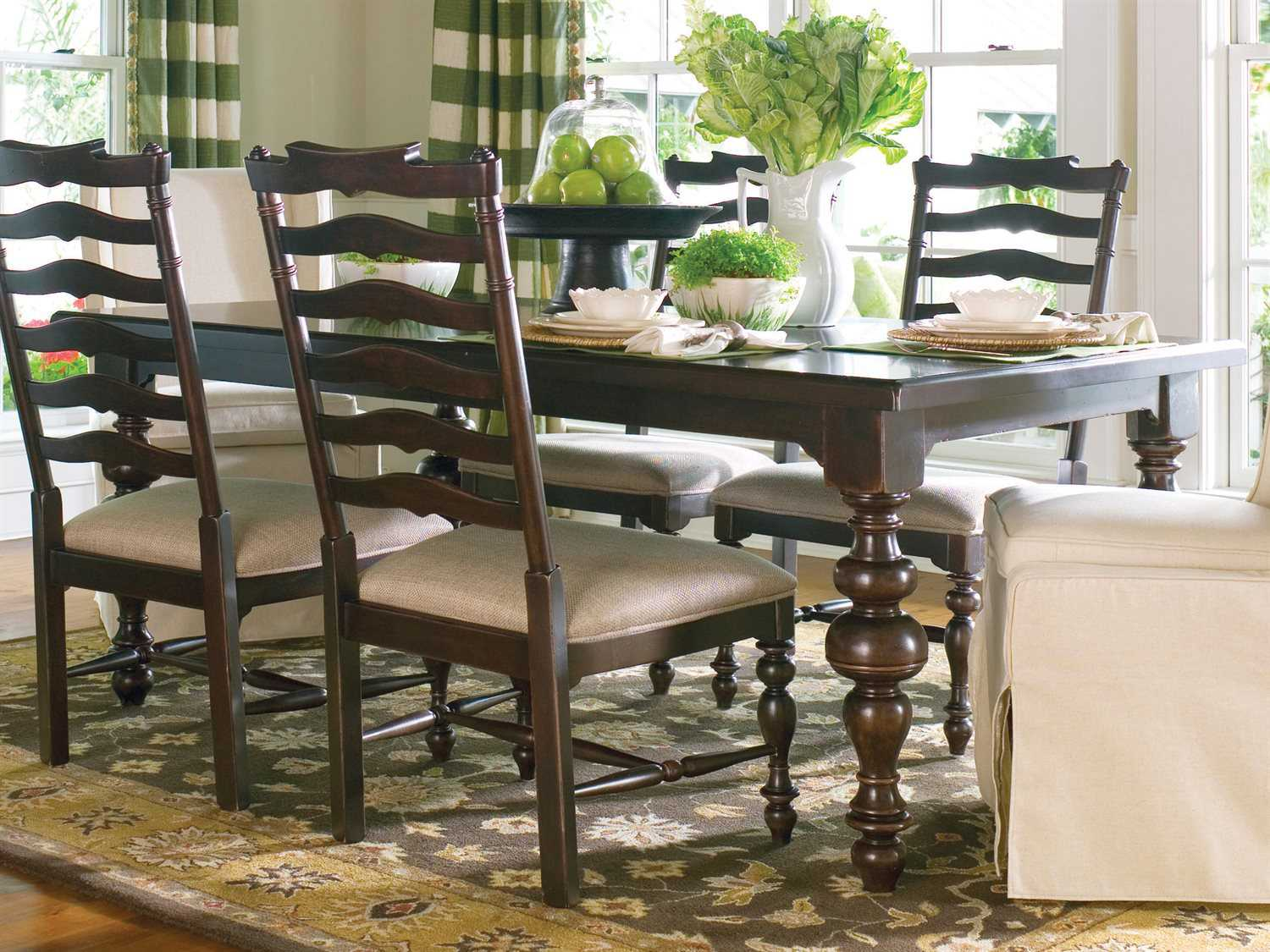 paula deen table and chairs electric chair videos home tobacco 76'' x 46'' rectangular dining | pdh932653