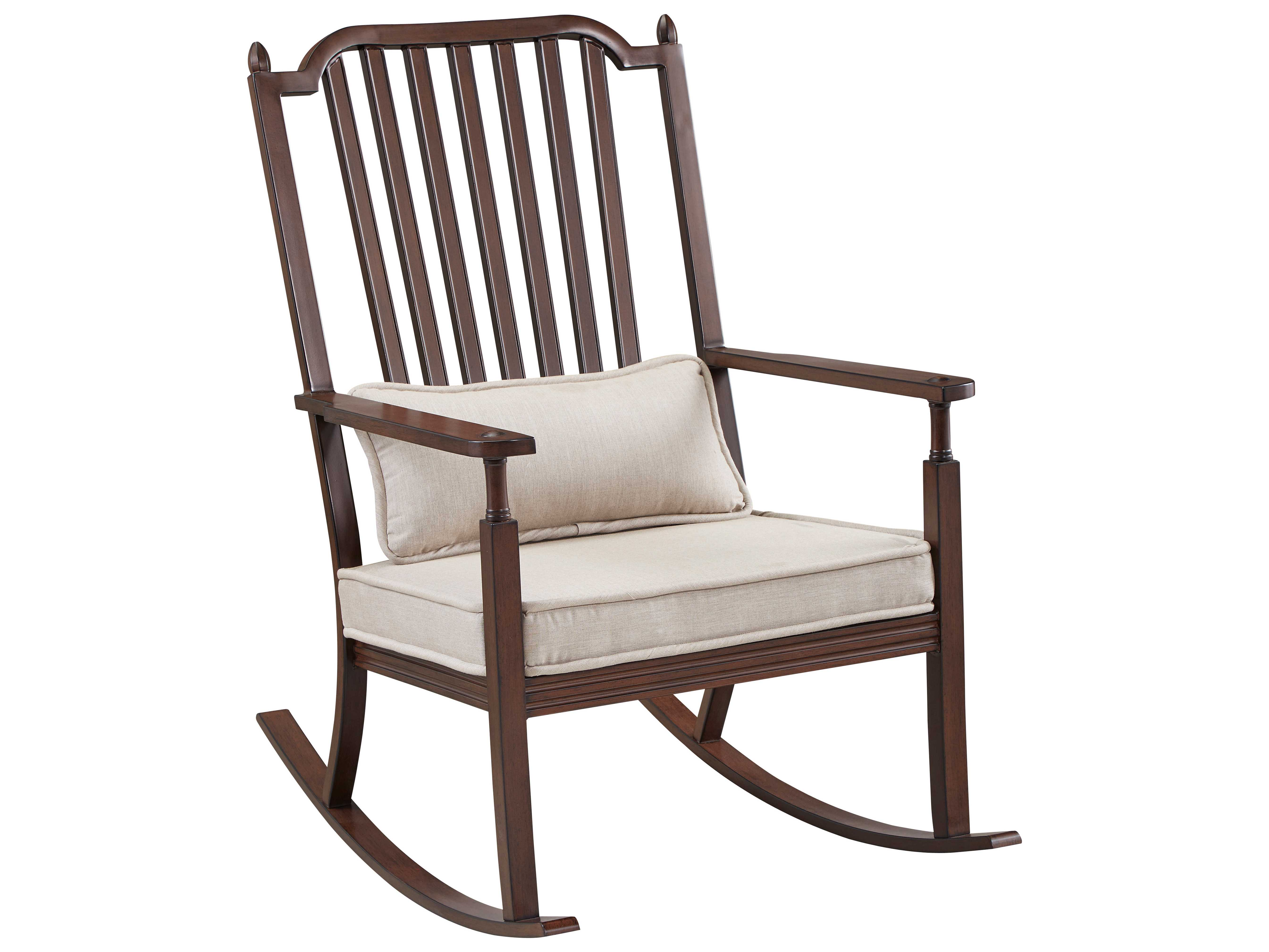 front porch lounge chairs black chair covers rental paula deen outdoor river house aluminum rocker with