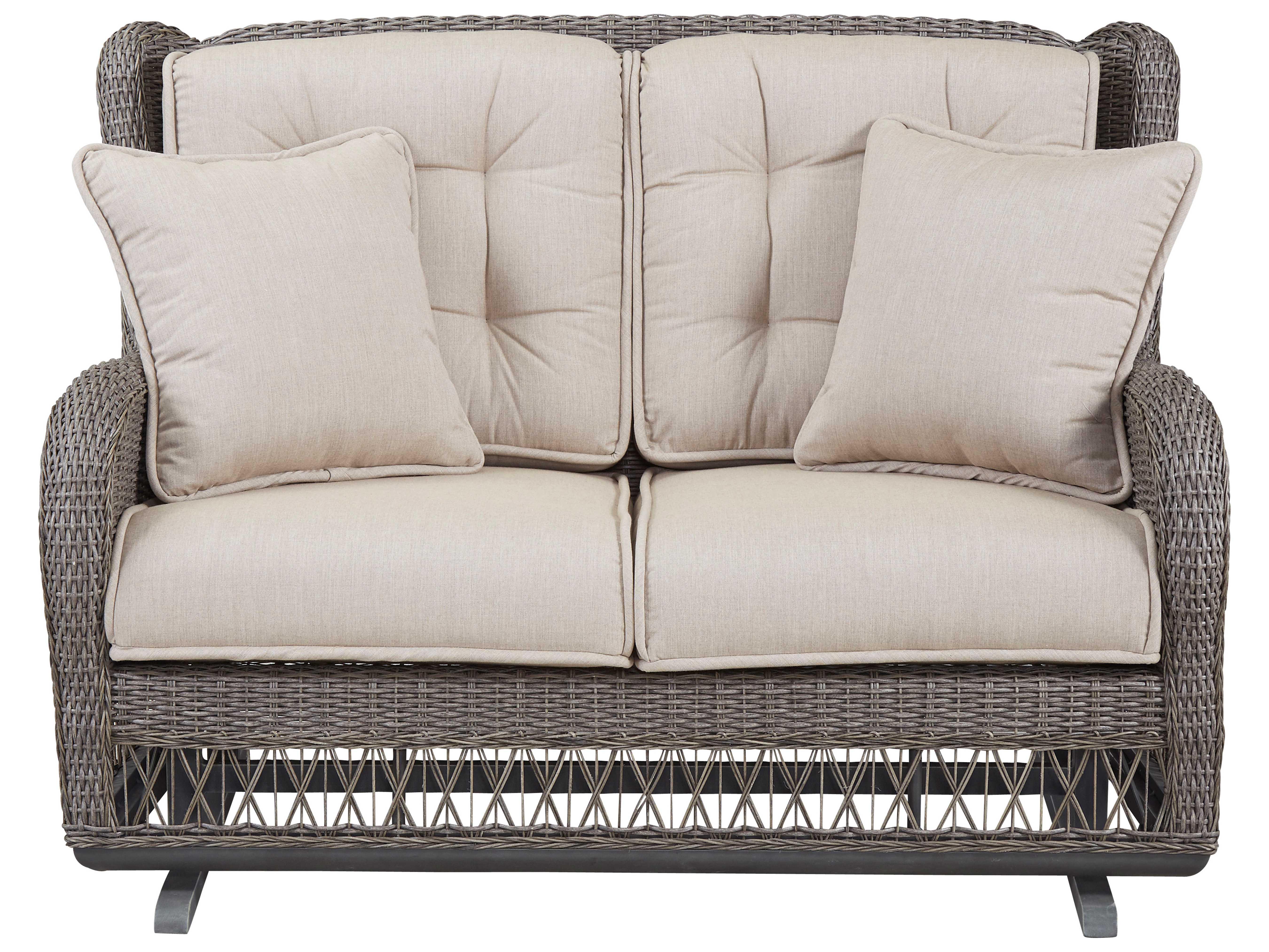 glider sofa danish style sofas paula deen outdoor dogwood wicker loveseat 17003889