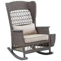 Wicker Rocking Chairs Outdoor Revolving Chair On Gem Portal Paula Deen Dogwood Rocker With Lumbar