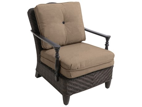 sailcloth beach chairs captains chair gym exercises paula deen outdoor furniture patioliving bungalow tobacco wicker lounge in sisal fabric