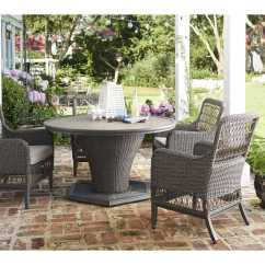 Paula Deen Dogwood Dining Chairs Wedding Hire Auckland Outdoor 54 Round Wicker Table