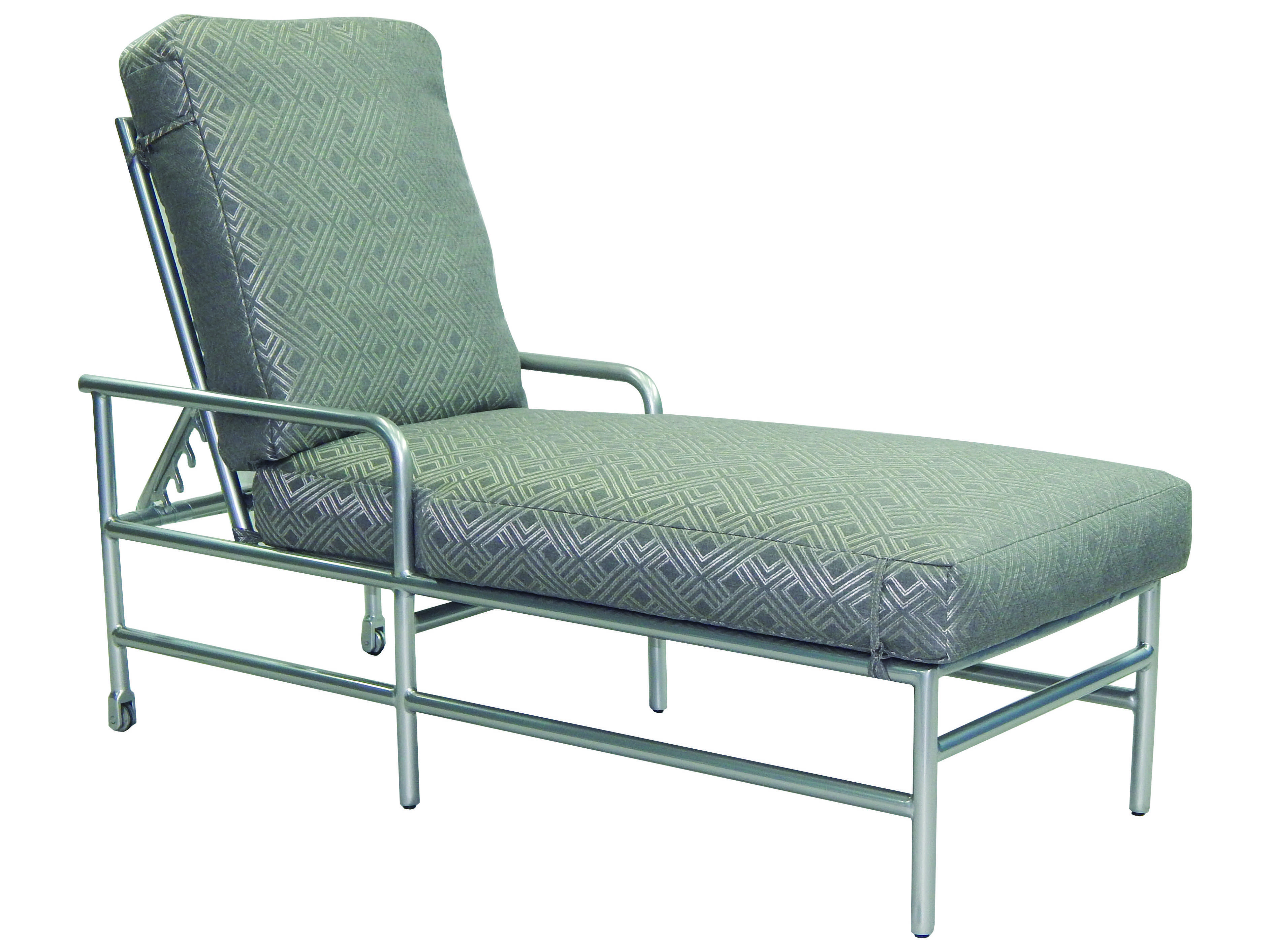 metal lounge chair with wheels walker transport in one hugo navigator castelle helios cushion aluminum adjustable chaise