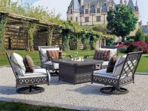Castelle Biltmore Estate Deep Seating Cast Aluminum