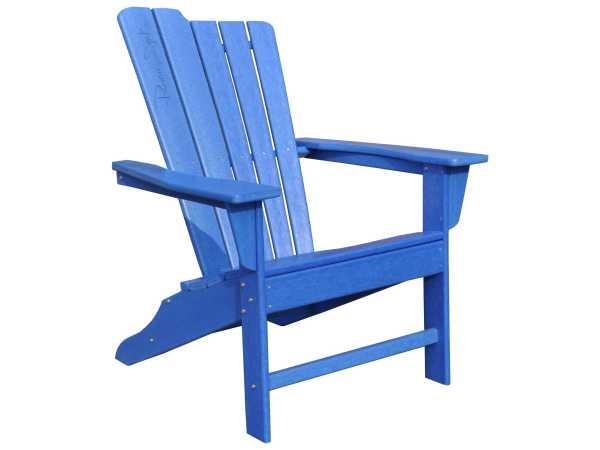 Panama Jack Adirondack Resin Blue Chair Pjo-4001-blu-ad