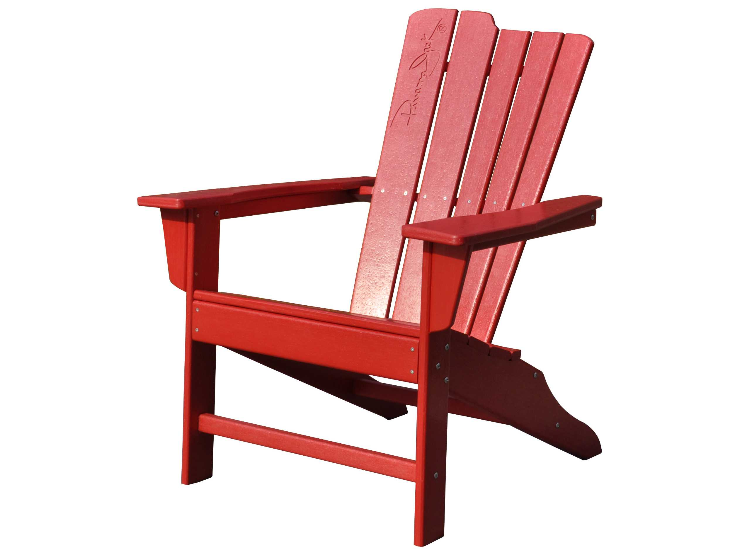 Red Adirondack Chairs Panama Jack Red Adirondack Resin Chair Pjo 4001 Red Ad