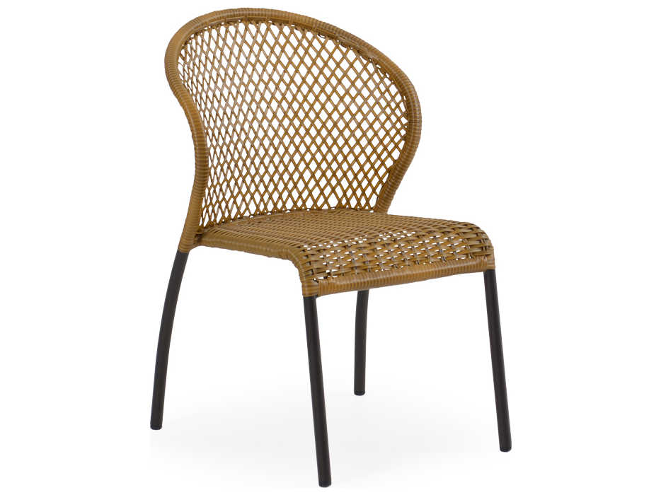 palm springs rattan cape town aluminum 3200 bistro side chair