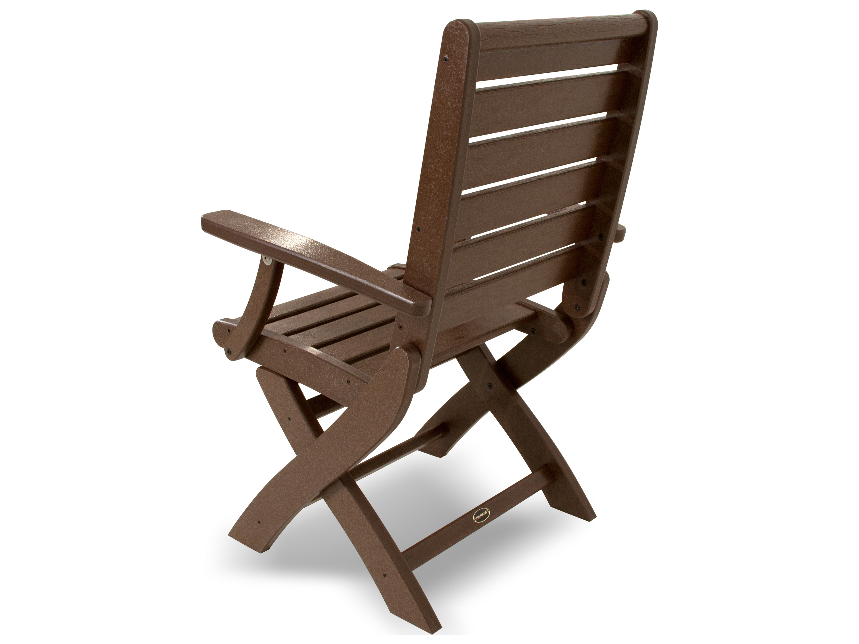 Plastic Folding Lawn Chairs Polywood Signature Recycled Plastic Folding Chair 1900