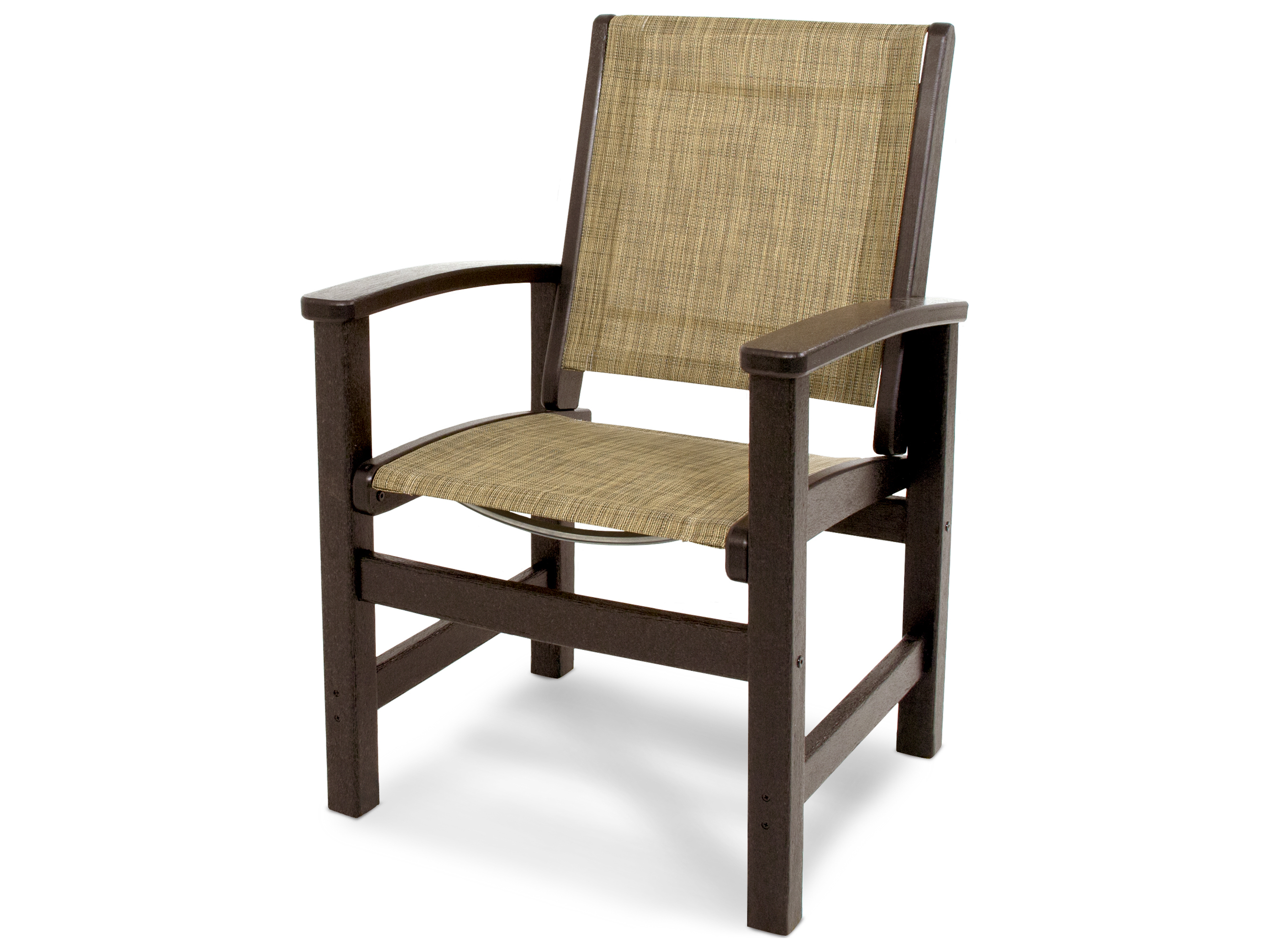 Plastic Dining Chairs Polywood Coastal Recycled Plastic Dining Chair 9010