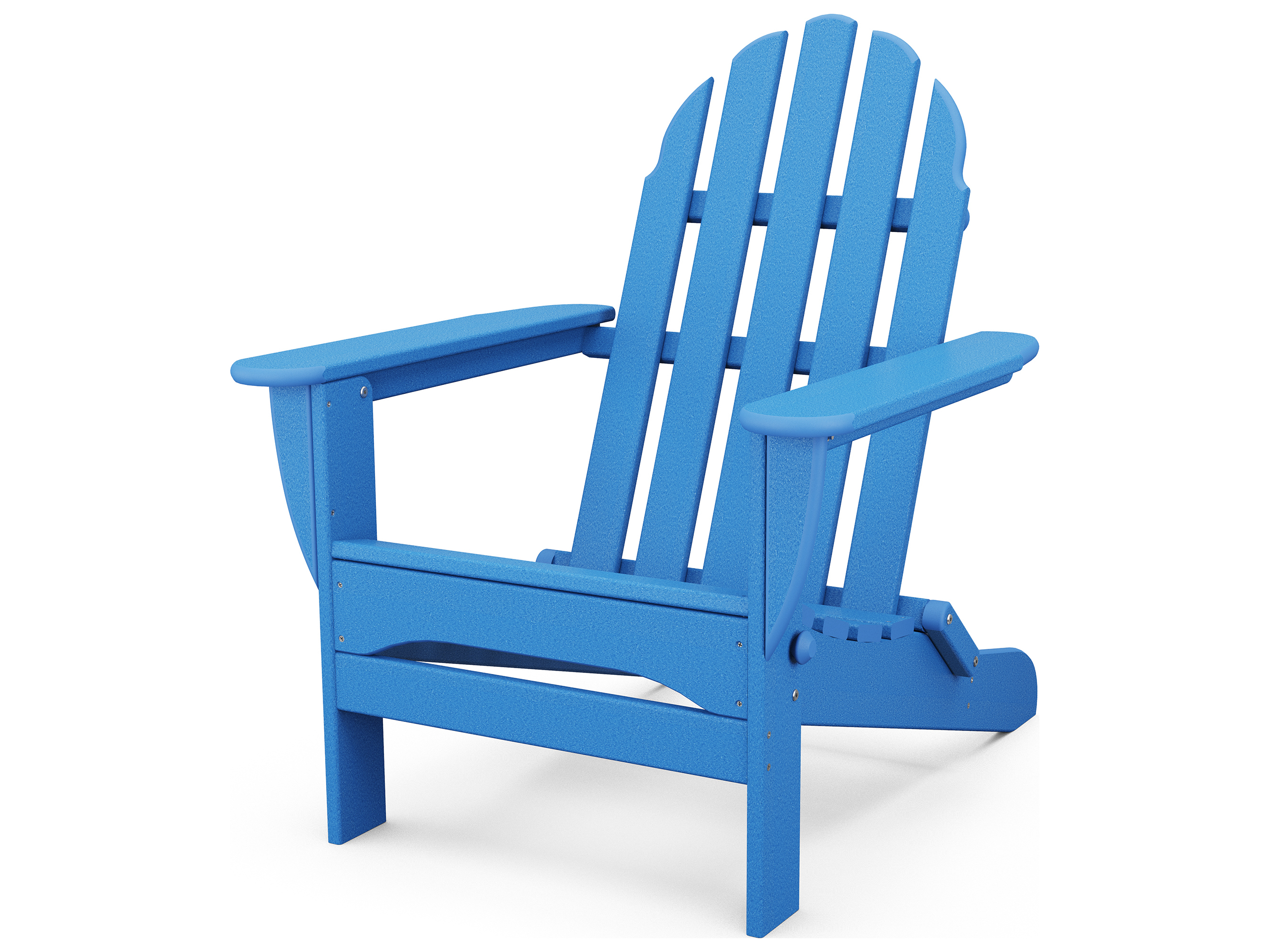 polywood classic adirondack chair red salon chairs recycled plastic ad5030
