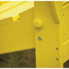 Adirondack Chairs Plastic Parsons Chair Covers Short Polywood Classic Recycled Ad5030