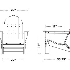 Adirondack Chairs Plastic Sack Back Chair Polywood Classic Recycled Ad5030