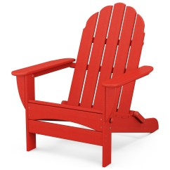 Polywood Classic Adirondack Chair One And A Half Uk Recycled Plastic Ad7030