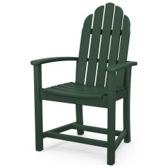 Polywood Classic Adirondack Chair Phil And Teds High Recycled Plastic Dining