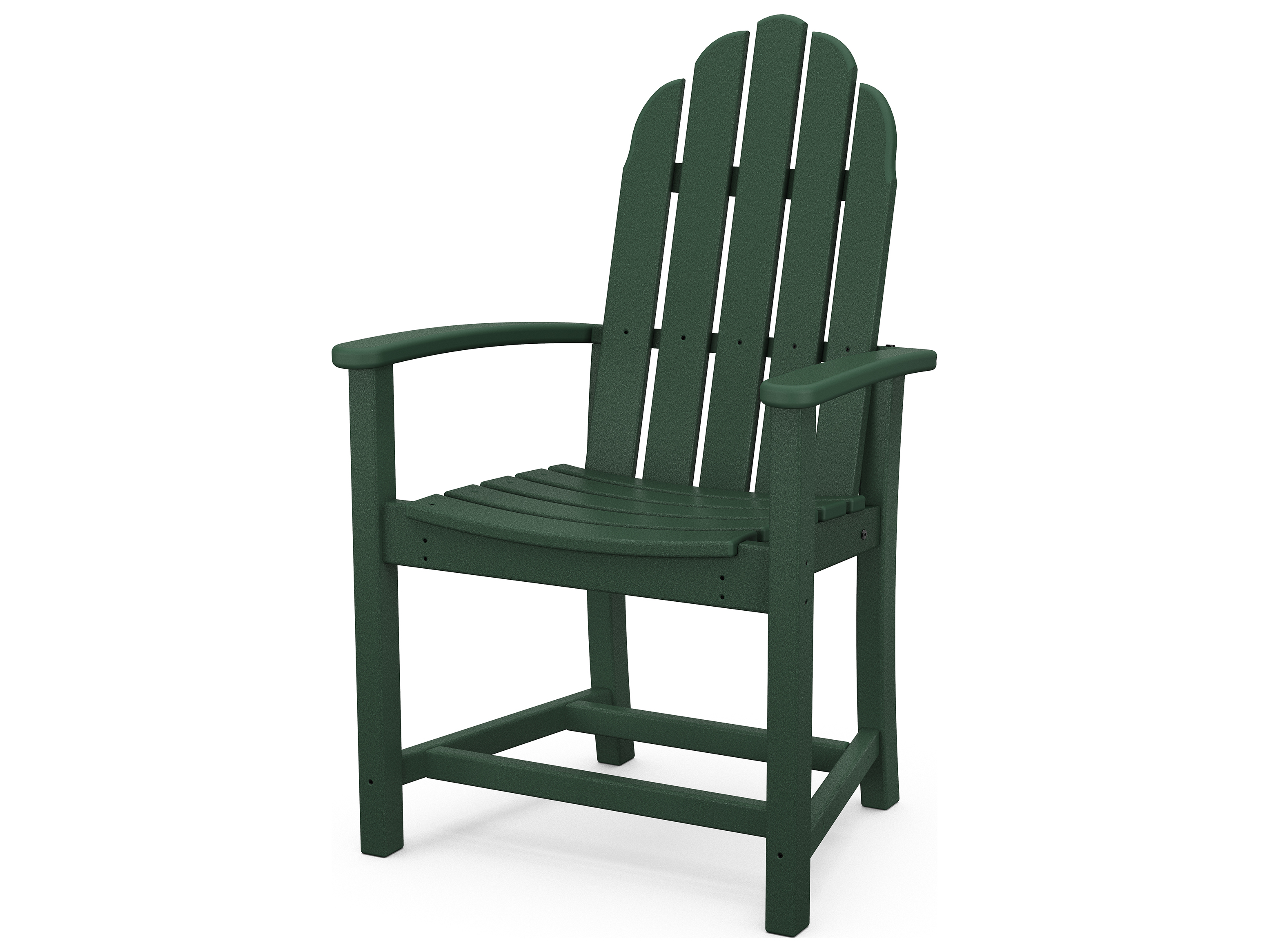 adirondack chairs recycled materials folding barber chair polywood classic plastic dining