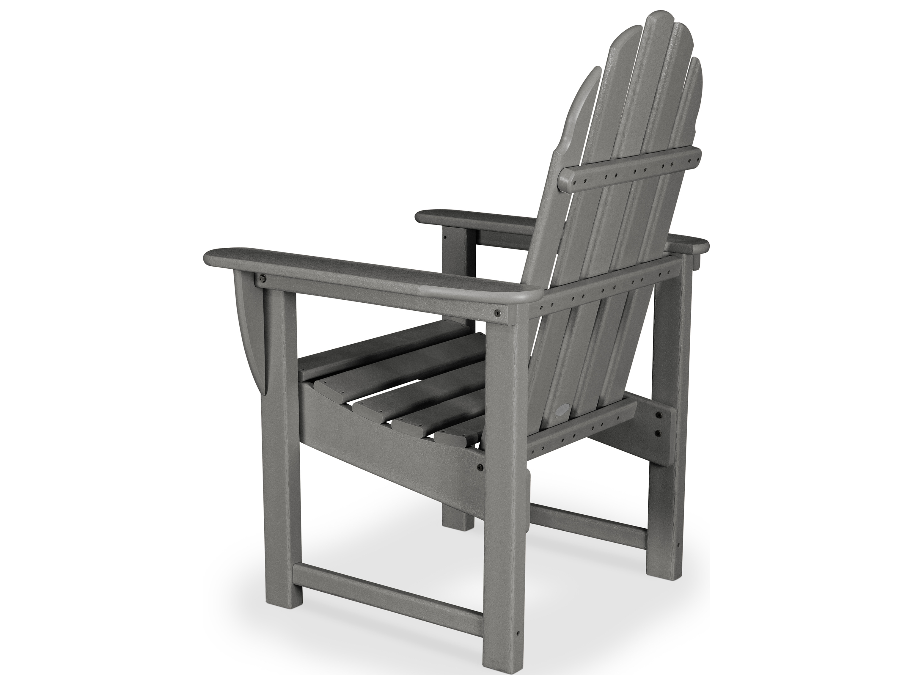Recycled Adirondack Chairs Polywood Classic Adirondack Recycled Plastic Dining Chair