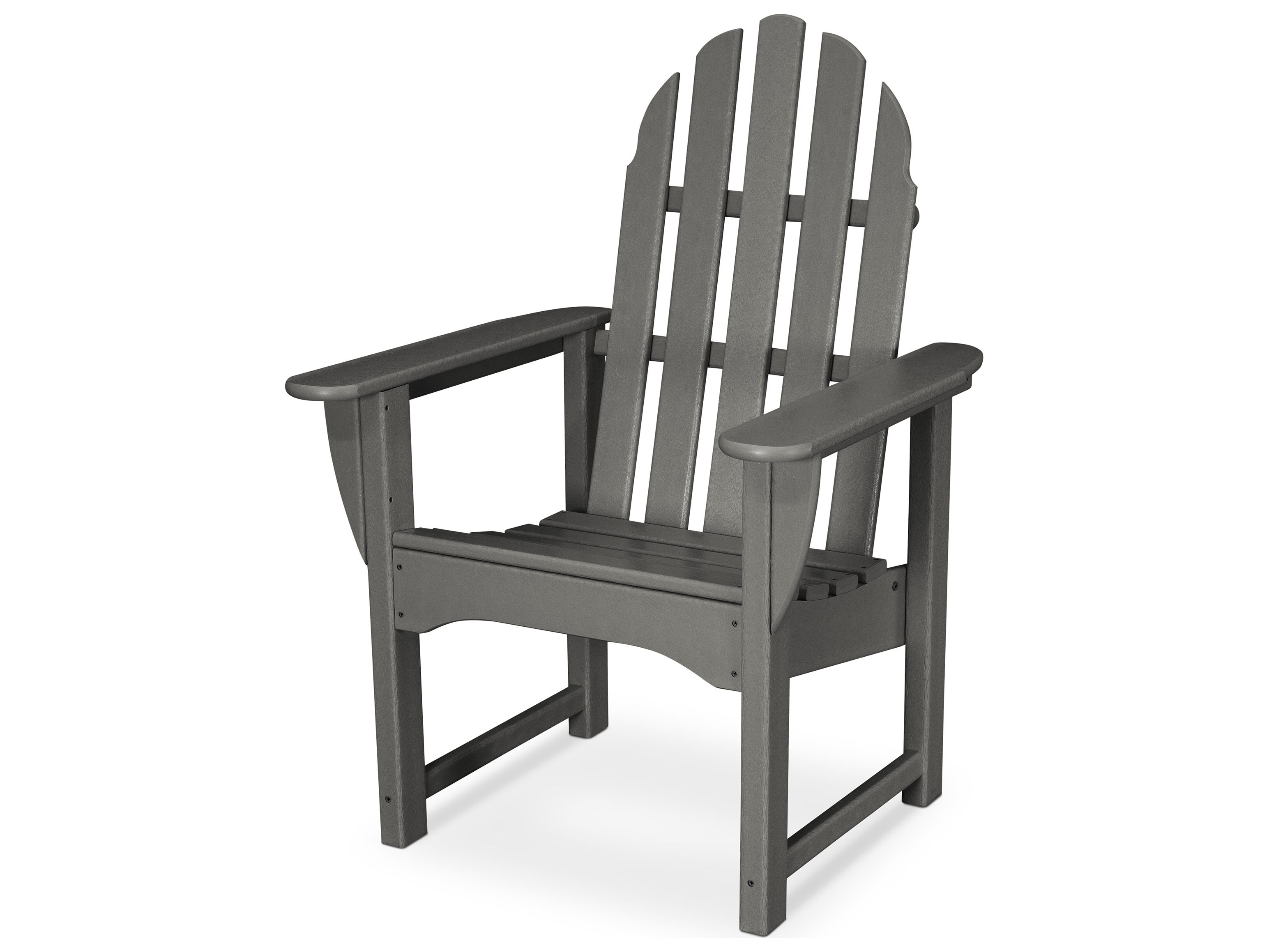 adirondack style dining chairs desk chair you can sleep in polywood classic recycled plastic