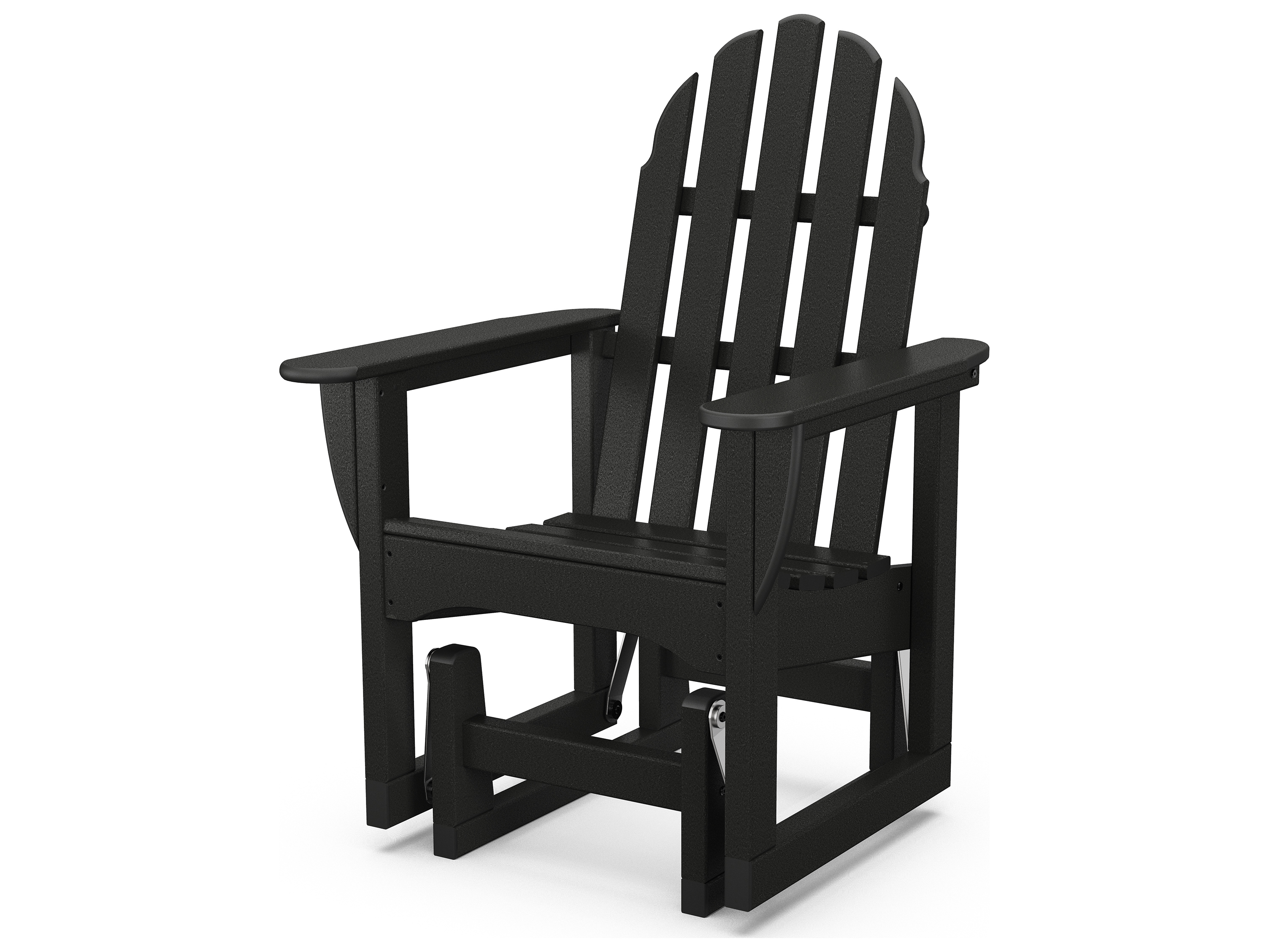 Adirondack Chair Plastic Polywood Classic Adirondack Recycled Plastic Glider Chair