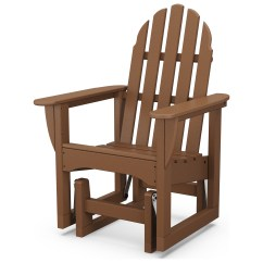 Polywood Big Daddy Adirondack Chair Deer Blind Classic Recycled Plastic Glider