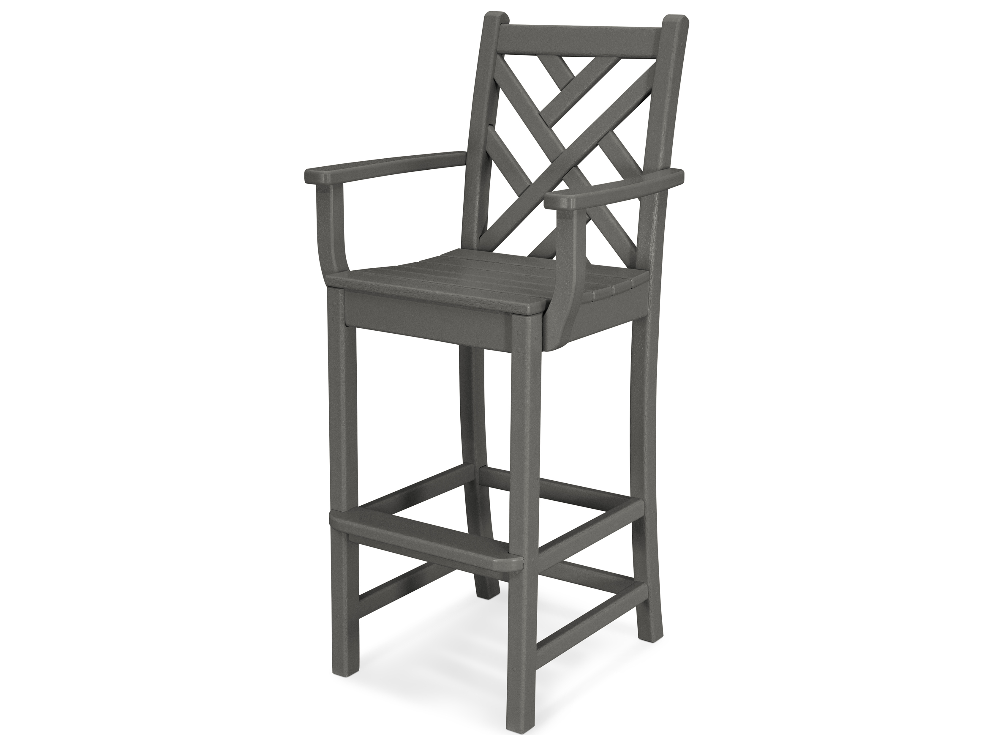 plastic stool chair malaysia cover hire aldershot polywood chippendale recycled bar cdd202