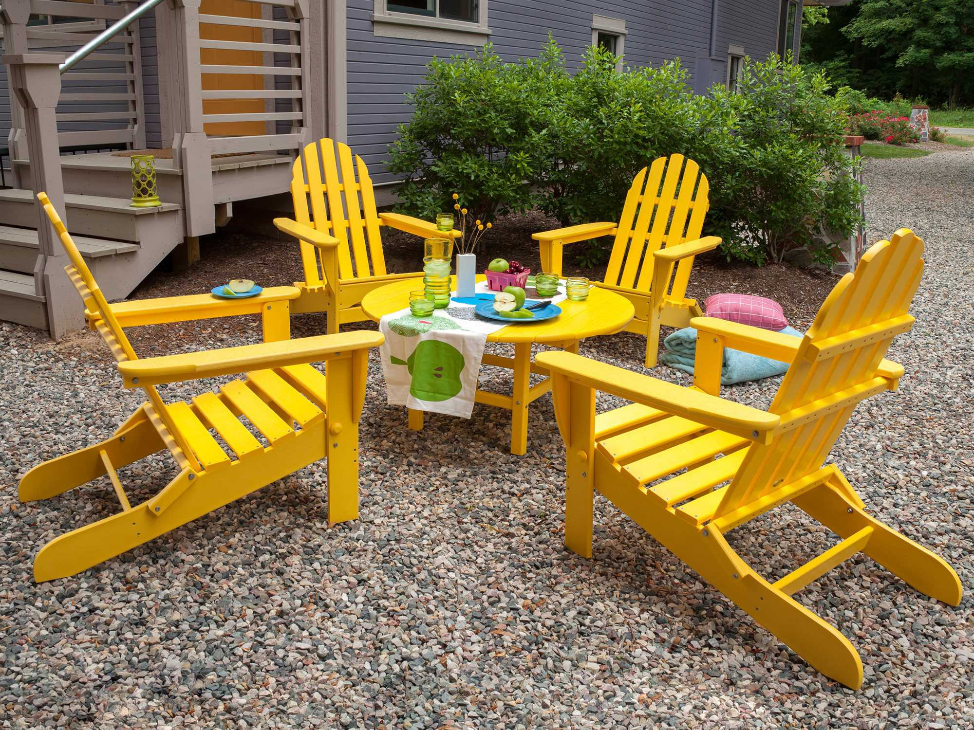 adirondack chairs recycled materials massage chair cost polywood classic plastic ad5030