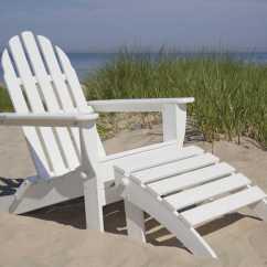 Sailcloth Beach Chairs Salon Shampoo Chair Polywood Classic Adirondack Recycled Plastic Lounge Set