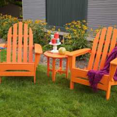Adirondack Chairs Recycled Materials Table Chair For Kids Polywood Classic Plastic Lounge Set