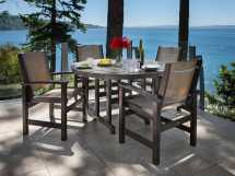 Polywood La Casa Cafe Recycled Plastic 48 Dining