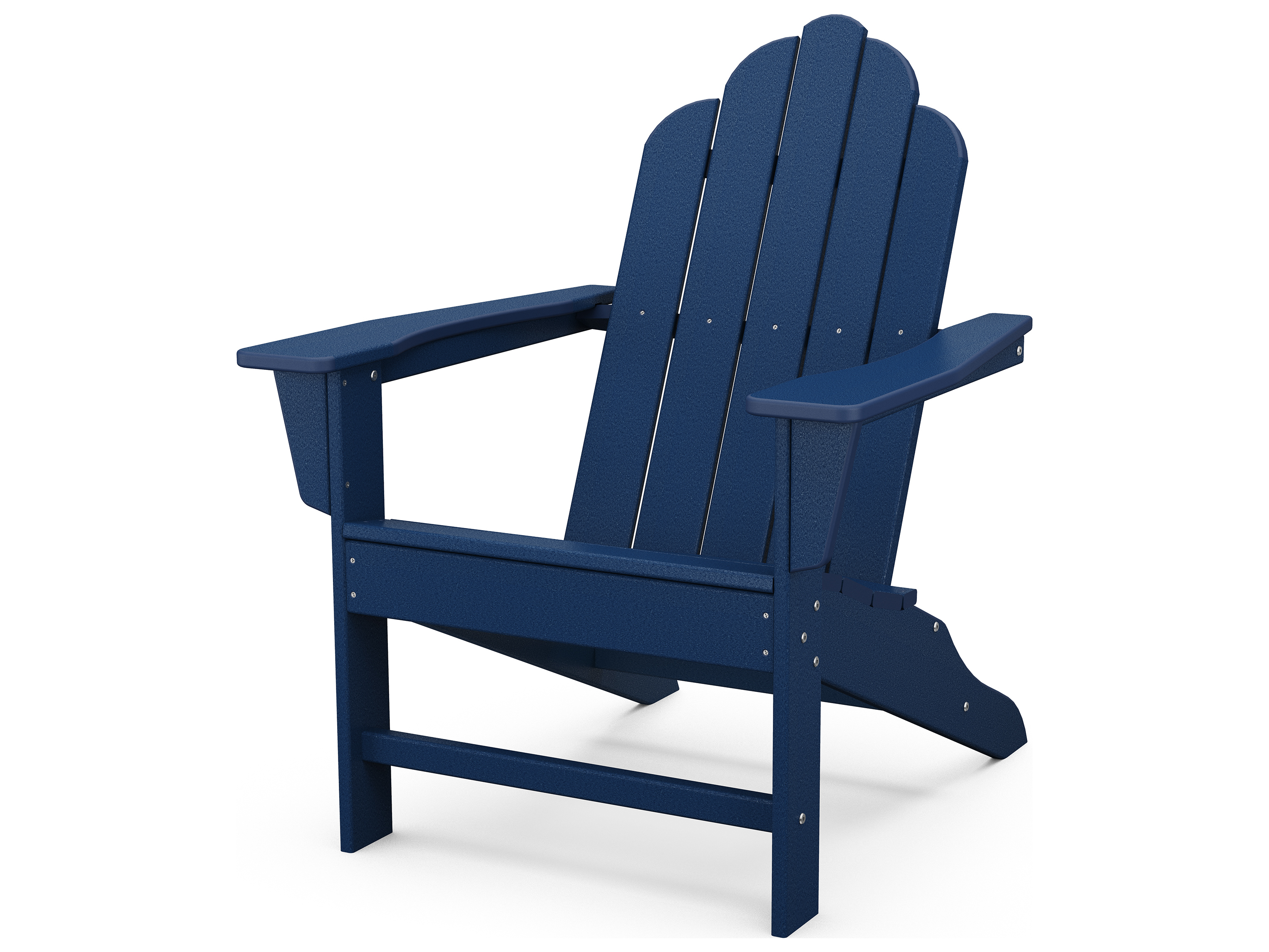 POLYWOOD Long Island Recycled Plastic Adirondack Chair