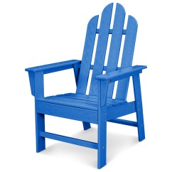 Adirondack Chair Covers Canada Medical Recliner Polywood Long Island Recycled Plastic Dining