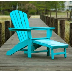 Adirondack Chairs Plastic Ozark Trail Folding Chair Polywood South Beach Recycled Arm