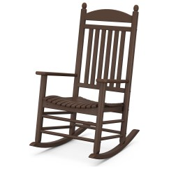 Polywood Rocking Chair Accent Chairs Rocker Recycled Plastic Arm Lounge Pwj147