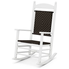 Plastic Rocking Chair Ak Racing Polywood Jefferson Recycled Rocker Lounge