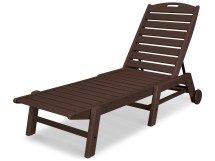 Polywood Nautical Recycled Plastic Stackable Chaise
