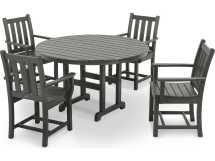 Polywood Traditional Garden Recycled Plastic Dining Set