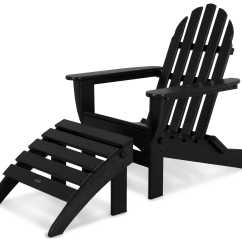 Polywood Big Daddy Adirondack Chair How High To Install Rail Molding Classic Recycled Plastic 2 Piece Set