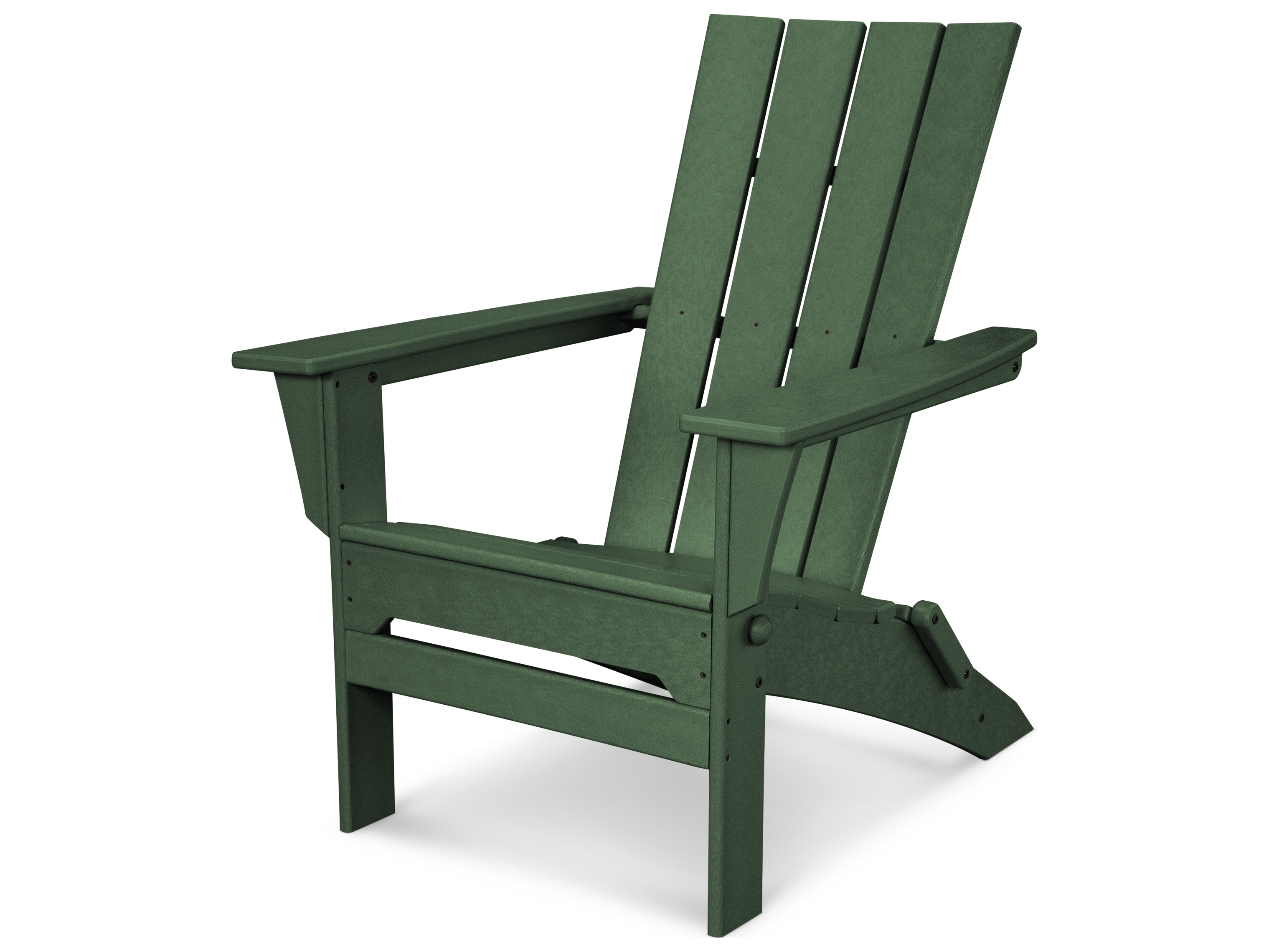 Plastic Folding Lawn Chairs Polywood Quattro Recycled Plastic Folding Adirondack