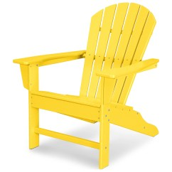 Adirondack Chairs Plastic Small Upholstered Rocking Chair Polywood South Beach Recycled
