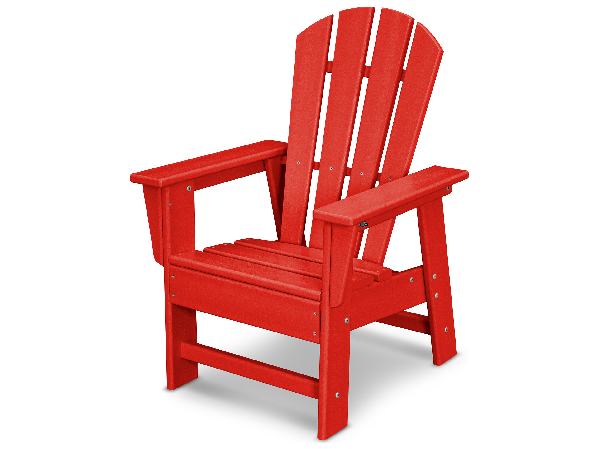 childrens plastic adirondack chairs chair design for reception polywood south beach recycled child size