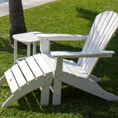Polywood Adirondack Chairs Chair Parts Names Seashell Recycled Plastic Sh22