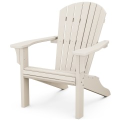 Plastic Deck Chairs Office Chair 400 Lb Weight Capacity Polywood Seashell Recycled Adirondack Sh22