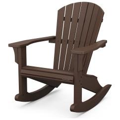 Polywood Rocking Chair Childrens Folding Table And Set Seashell Recycled Adirondack Plastic Rocker Shr22