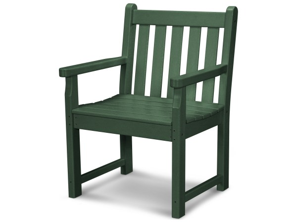 plastic patio furniture POLYWOOD® Traditional Garden Recycled Plastic Dining Chair