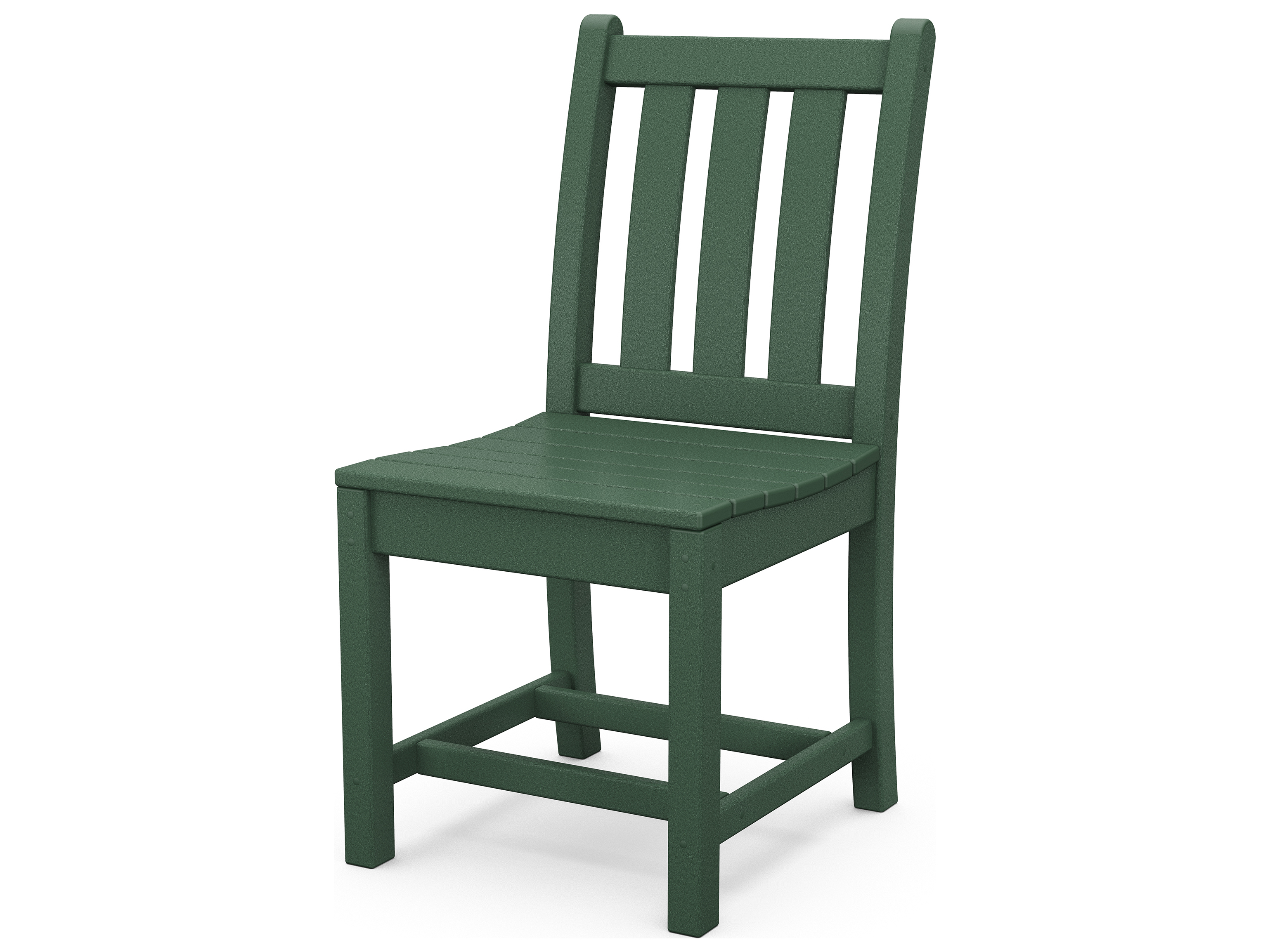 Plastic Dining Chairs Polywood Traditional Garden Recycled Plastic Dining Chair