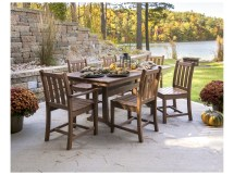 Polywood Traditional Garden Recycled Plastic Dining Chair
