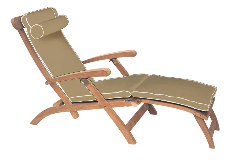 cushions for teak steamer chairs gardening chair stool royal collection cushion cust