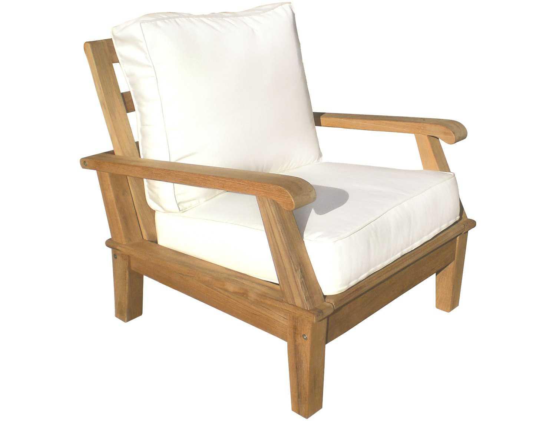 teak lounge chair racing car office royal collection miami cushion adjustable